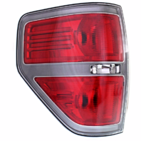 Fits 09-14 Ford F150 Left Driver Tail Lamp Assembly with Sterling Gray Trim