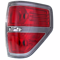 Fits 09-14 Ford F150 FX2 Right Rear Tail Lamp Assembly w/ Sterling Gray Trim
