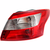 Fits 12-14 Ford Focus Sedan Right Passenger Tail Lamp Assembly Quarter Mounted