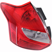 Fits 12-14 Ford Focus Hatchback Excludes Electric Left Driver Tail Lamp Unit