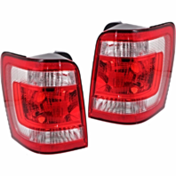 Fits 08-12 Ford Escape / Escape Hybrid Left & Right Set Tail Lamp Assemblies