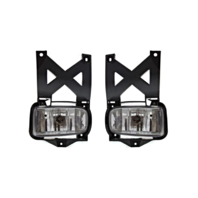 Fits 01-04 Ford Escape Left & Right Fog Lamp Assemblies - Set