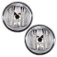 Fits 06-10 Ford F150; 06-08 Lincoln Mark LT Left & Right Round Fog Lamp Units (pair)
