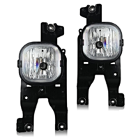 Fits 08-10 Ford SuperDuty Pickup Left & Right Fog Lamp Assemblies (pair)