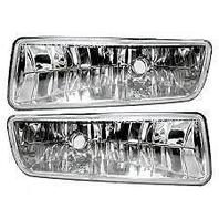 Fits 03-06 Ford Expedition Left & Right Fog Lamp Assemblies without bulb (pair)