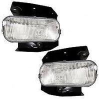 Fits 04 Ford F150 Heritage; 99 F250 Light Duty L & R Fog Lamp Assys w/brackets