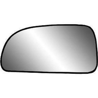 Fits Envoy Trailblazer Left Driver Mirror Glass Heated w/ rear Mount Backing Plate