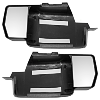 Fits 09-14 Ford F150 Snap On Tow Mirror Extensions Left & Right Pair