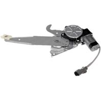 Fits 03-07 Taurus/Mercury Sable Left Driver Rear Door Windows Motor & Regulator