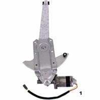 Fits 81-96 Fd F150/f250 81-97 Fd F350 88-97 F450 81-83 F100 81-96 Fd Bronco Power Window Regulator with Motor Front Right Passenger