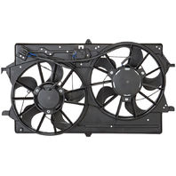 Fits 01-02 Ford Focus Dual Cooling Fan Assembly With AC