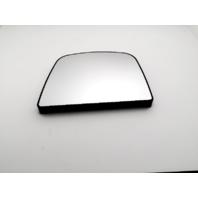 Fits 08-15 Chevy Express GMC Savana Left Driver Upper Mirror Glass w/Rear Holder