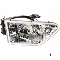 FITS 01-02 NISSAN QUEST RIGHT PASSENGER HEADLAMP ASSEMBLY