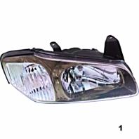 Fits 00-01 Maxima Right Pass Halogen Headlamp Assm Models w/ Bronze Bezel 3 Opts
