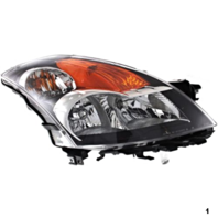 FITS 07-09 NISSAN ALTIMA SEDAN RIGHT PASSENGER HID HEADLAMP ASSEMBLY W/Out HID KIT