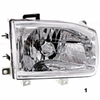FITS 99-04 NISSAN PATHFINDER RIGHT PASSENGER HEADLAMP ASSEMBLY FROM 12/98