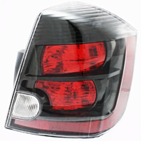 FITS 07-09 NISSAN SENTRA RIGHT PASSENGER TAIL LAMP ASSEMBLY With BLACK BEZEL