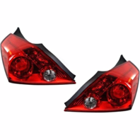 FITS 08-13 NISSAN ALTIMA COUPE LEFT & RIGHT TAIL LAMP ASSEMBLIES - SET