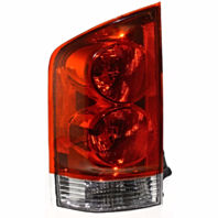 FITS 04-05 ARMADA LEFT DRIVER TAIL LAMP ASSEMBLY QUARTER MOUNTED THRU 12/04