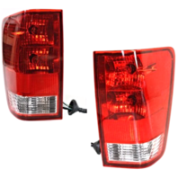 FITS 04-15 NISSAN TITAN LEFT & RIGHT SET TAIL LAMP ASSEMBLIES W/OUT UTILITY BED