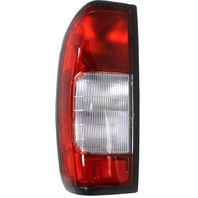FITS 98-00 NISSAN FRONTIER LEFT DRIVER TAIL LAMP ASSEMBLY W/CLEAR REVERSE LENS