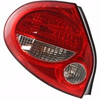 FITS 00-01 NISSAN MAXIMA LEFT DRIVER TAIL LAMP ASSEMBLY With RED BEZEL