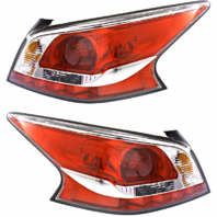 FITS 13-15 NISSAN ALTIMA SEDAN LEFT & RIGHT TAIL LAMP ASSM W/GREY EDGE TRIM -SET