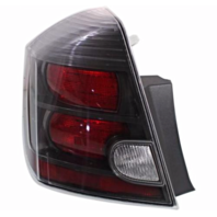 FITS 10-12 NISSAN SENTRA LEFT DRIVER TAIL LAMP ASSEMBLY With BLACK BEZEL