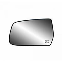 Fits 10-16 Equinox, Terrain Left Driver Heated Mirror Glass w/Rear Mount Bracket
