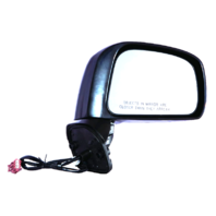 Fits 08-11 Nissan Versa Sedan Right Passenger Power Mirror Unpainted Non Heat