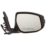 Fits 13-15 Nissan Altima Sedan Right Pass Unpainted Power Mirror W/Signal No Ht