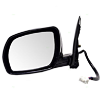 Fits 03-04 Nissan Murano Left Driver Power Mirror Unpainted With Heat / Memory