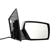 Fits 04-09 Nissan Quest Right Pass Power Mirror Unpainted W/Ht No Mem Or Puddle