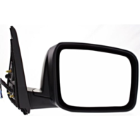 Fits 14-15 Rogue Select Right Passenger Power Mirror Textured W/Heat No Camera