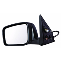 Fits 14-15 Rogue Select Left Driver Power Mirror Unpainted With Heat No Camera
