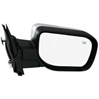Fits 04-15 Titan / Armada Right Pass Chrome Power Mirror W/Ht, Sing Arm, ManFold