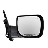 Fits 04-10 QX56 Right Pass Textured Power Mirror W/Heat, Single Arm, Man Fold