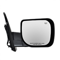 Fits 04-10 QX56 Right Pass Textured Power Mirror W/Ht,Mem,Single Arm,Man Fold