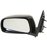Fits 05-12 Pathfinder 05-15 Xterra Left Driver Manual Mirror Man Fold Textured