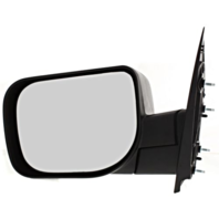 Fits 04-14 Nissan Titan / Armada Left Driver Manual Mirror Textured Black