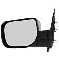 Fits 04-10 Infiniti QX56 Left Driver Manual Mirror Textured Black