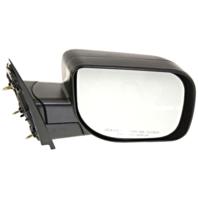 Fits 04-14 Nissan Titan / Armada Right Passenger Manual Mirror Textured Black
