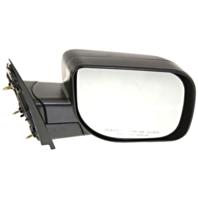 Fits 04-10 Infiniti QX56 Right Passenger Manual Mirror Textured Black