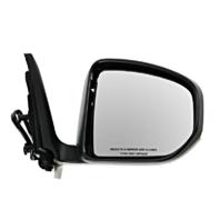 Fits 09-14 Nissan 370Z Right Passenger Power Mirror Smooth Black No Heat