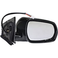 Fits 05-07 Murano Right Pass Power Mirror Unpainted W/Mem, Smart Entry No Heat