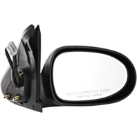 Fits 00-06 Nissan Sentra Right Pass Power Mirror Smooth Black Without Heat