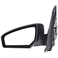 Fits 07-12 Nissan Sentra Left Driver Power Mirror Unpainted Without Heat
