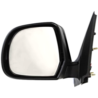 Fits 12-14 Nissan Versa Sedan Left Driver Power Mirror Unpainted No Heat