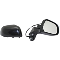 Fits 14-15 Nissan Versa Note Right Pass Power Mirror Unpainted No Ht or Camera