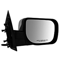 Fits 04-10 QX56 Right Passenger Chrome Mirror With Single Arm Manual Folding